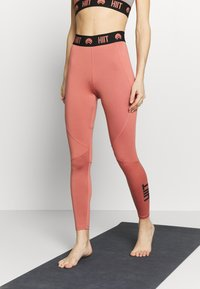 HIIT - ESSENTIAL BRANDED - Tights - salmon - 0