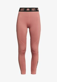 HIIT - ESSENTIAL BRANDED - Tights - salmon - 3