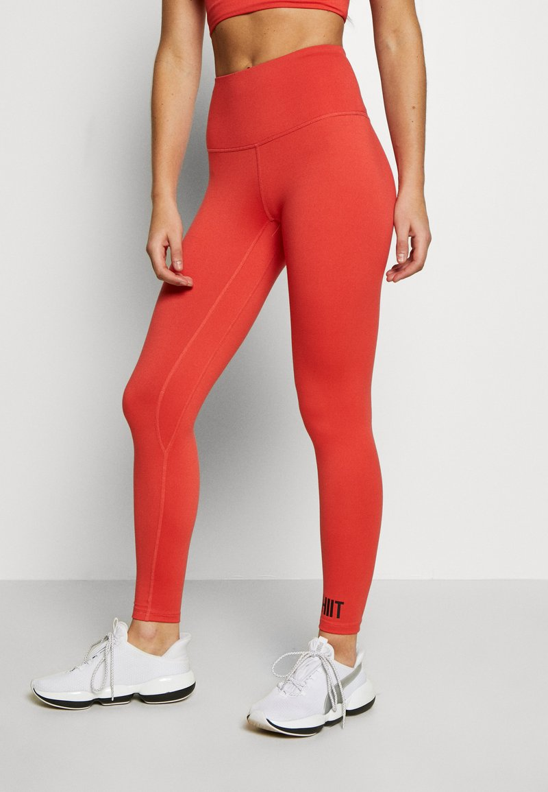 HIIT - BONNIE CORE LEGGING - Leggings - red
