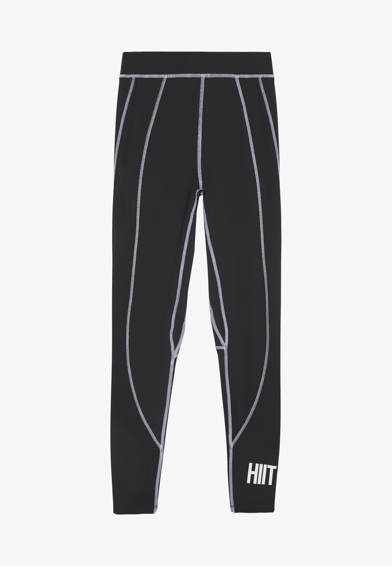 HIIT - VICTORIA SCULPTED LEGGING - Medias - black