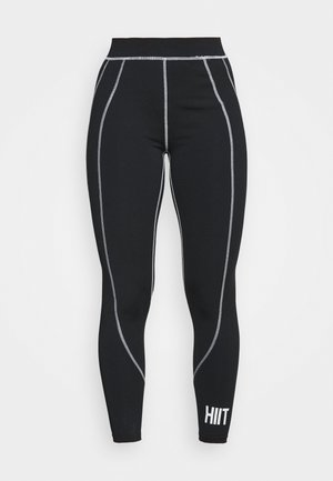 VICTORIA SCULPTED LEGGING - Medias - black