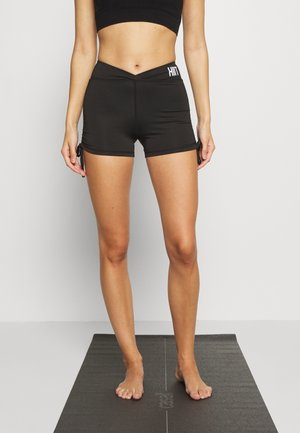LUCKY RUCHED SHORT - Medias - black