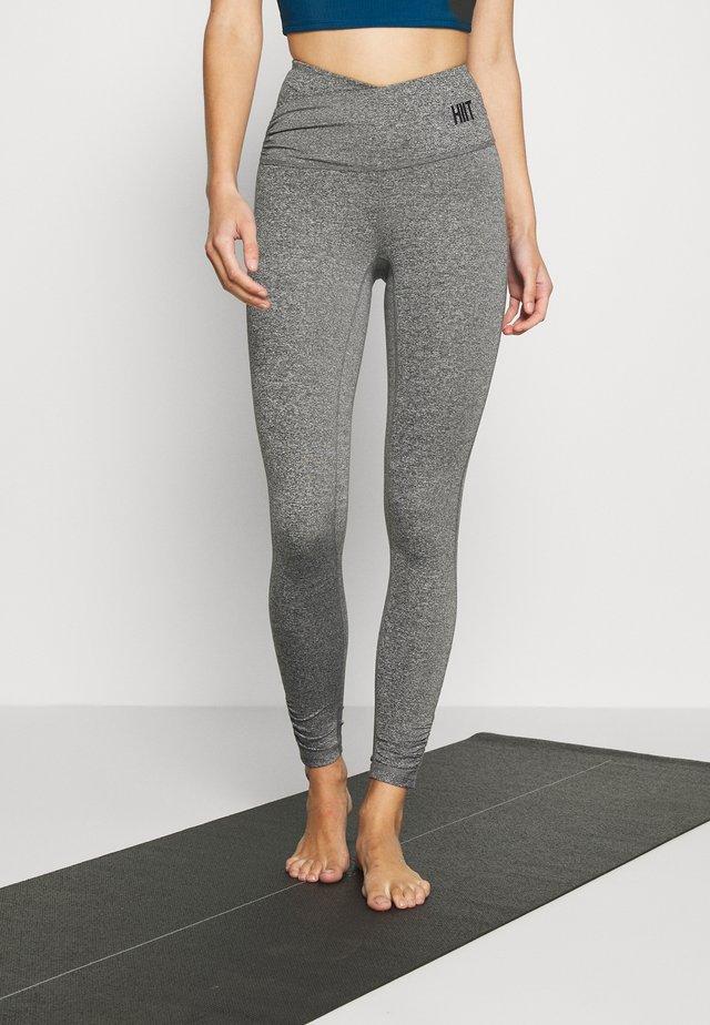 FLOW WRAP  - Legging - mid grey