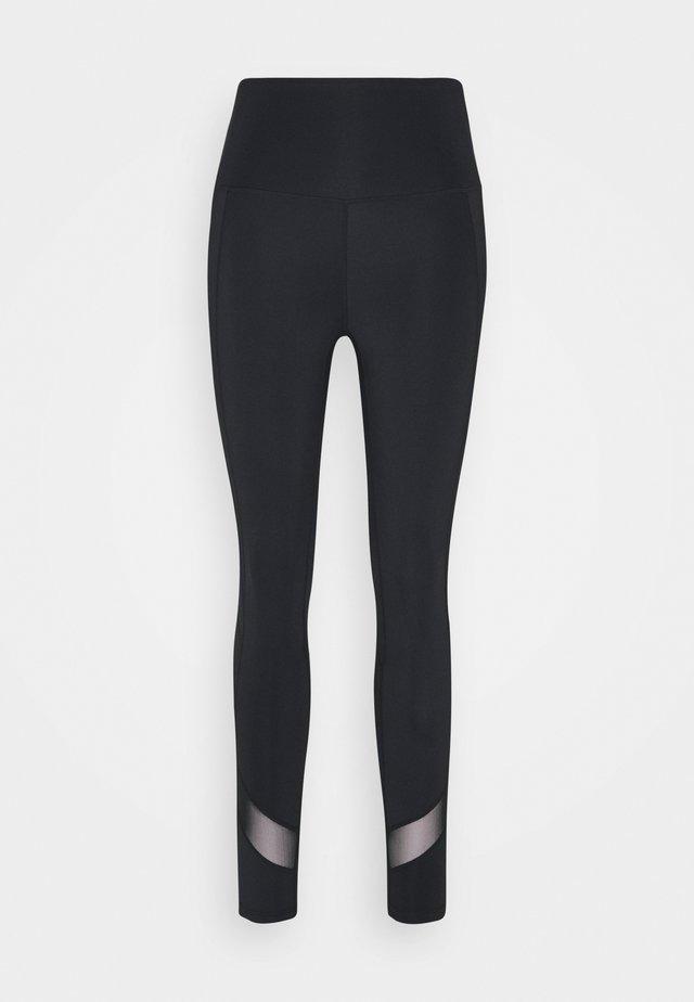 INSERT LEGGINGS - Legging - black