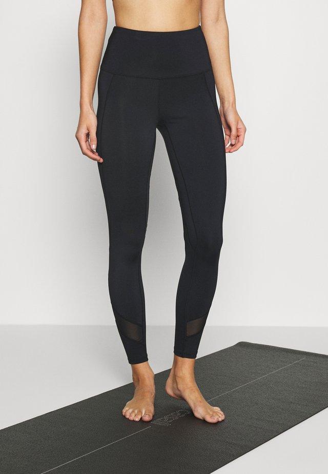 INSERT LEGGINGS - Tights - black
