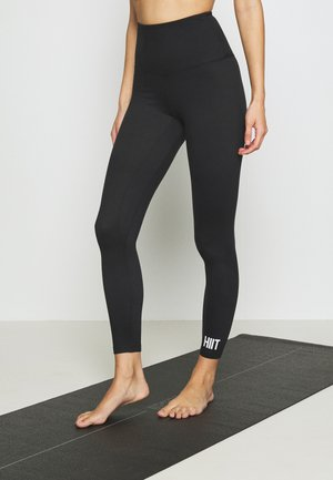 STUDIO PEACHED CORE LEGGING - Tights - black