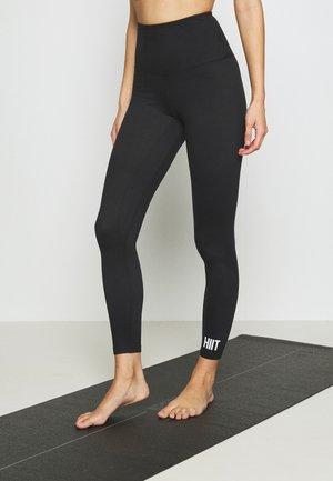 STUDIO PEACHED CORE LEGGING - Leggings - black