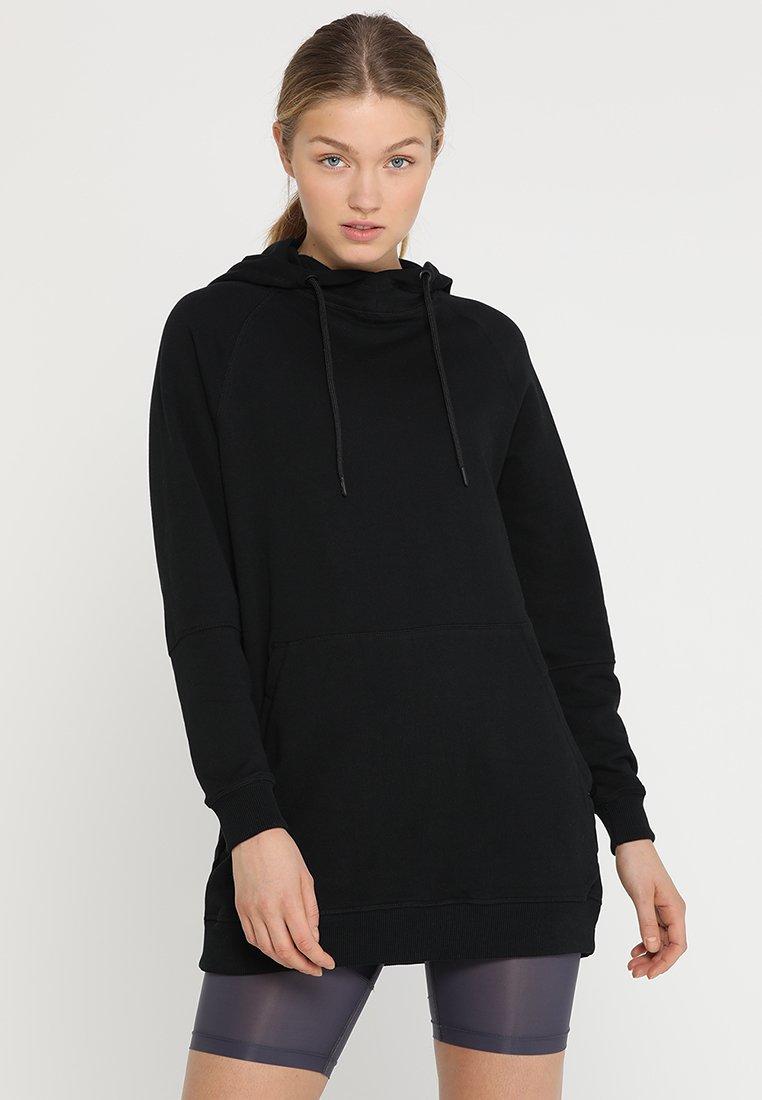 HIIT - HOODY DRESS  - Hoodie - black