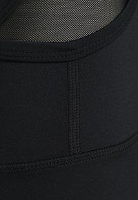HIIT - WALKER DUAL LAYER BRALET - Urheiluliivit - black - 2