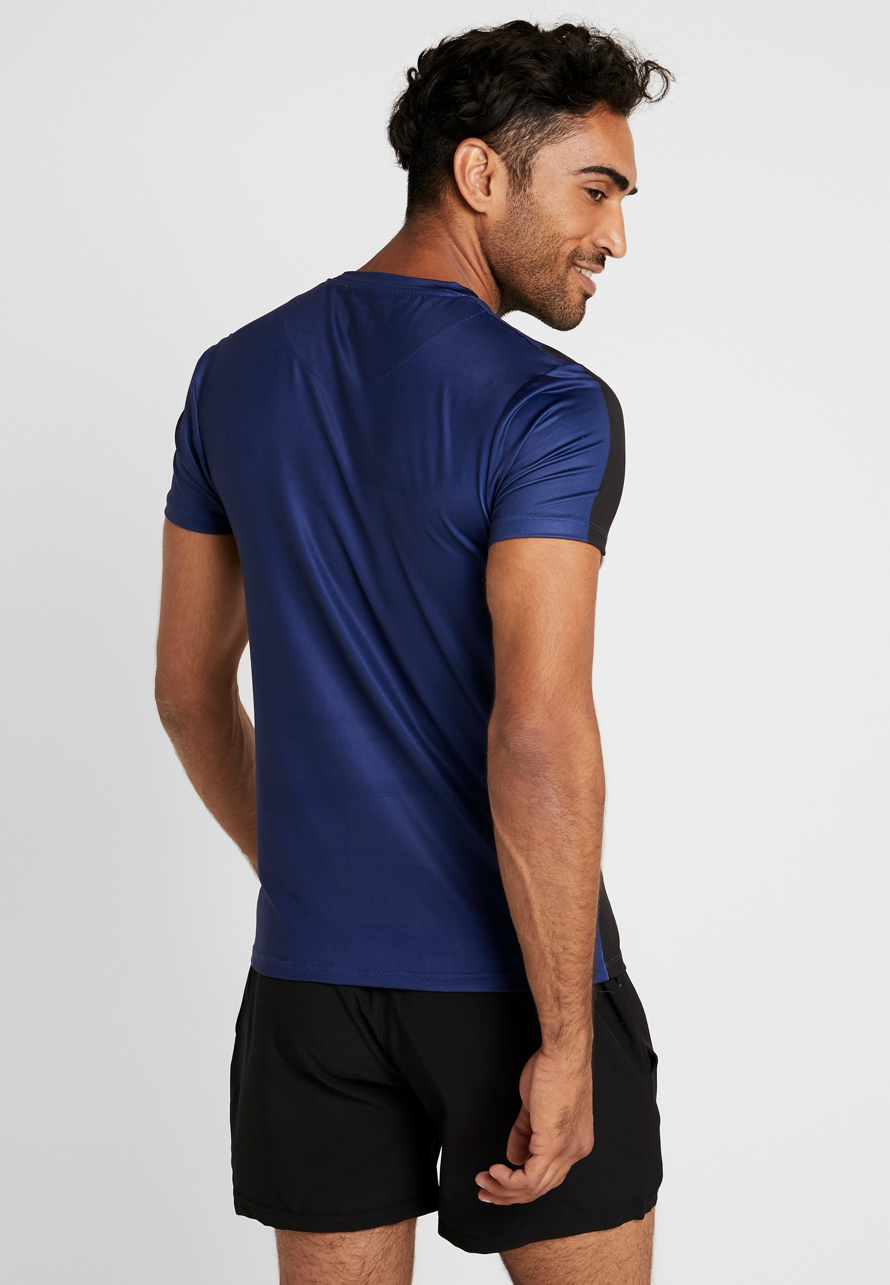 Exploded shirt Imprimé Blue TeeT Hiit Geo lKTF1Jc