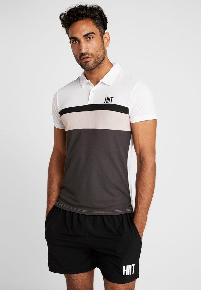 PANELLED  - Poloshirt - white