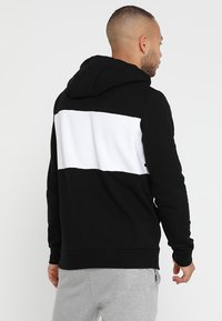 HIIT - CHEST PANEL OH HOODY  - Mikina s kapucí - black - 2