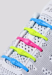 Hickies - 14 PACK TIE-FREE LACES - Övrigt - blue/pink/yellow - 1
