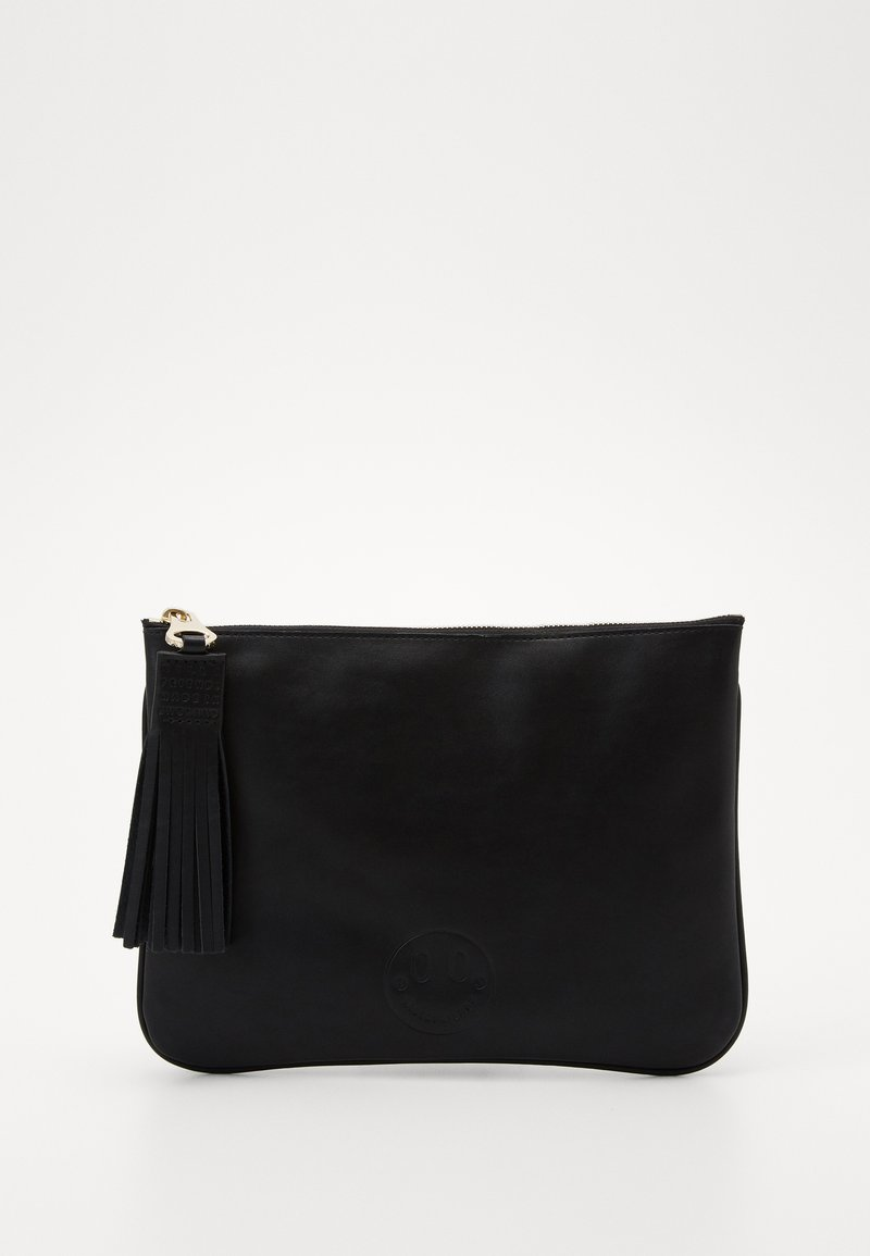 Hill & Friends - SLOUCHY POUCH - Kabelka - black