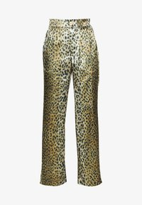 Han Kjobenhavn - RELAXED PANTS - Trousers - leo satin - 4