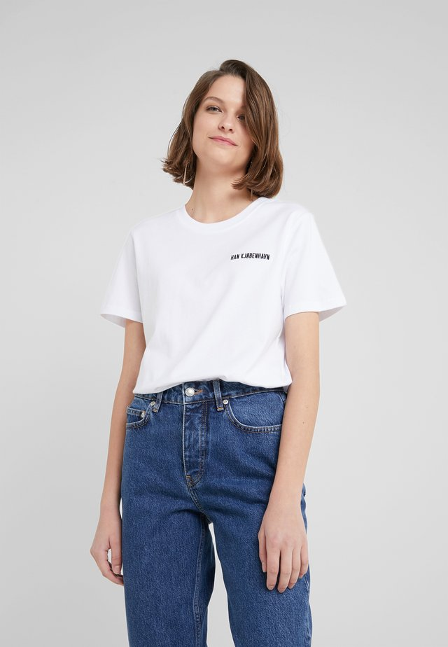 CASUAL TEE - T-Shirt basic - white