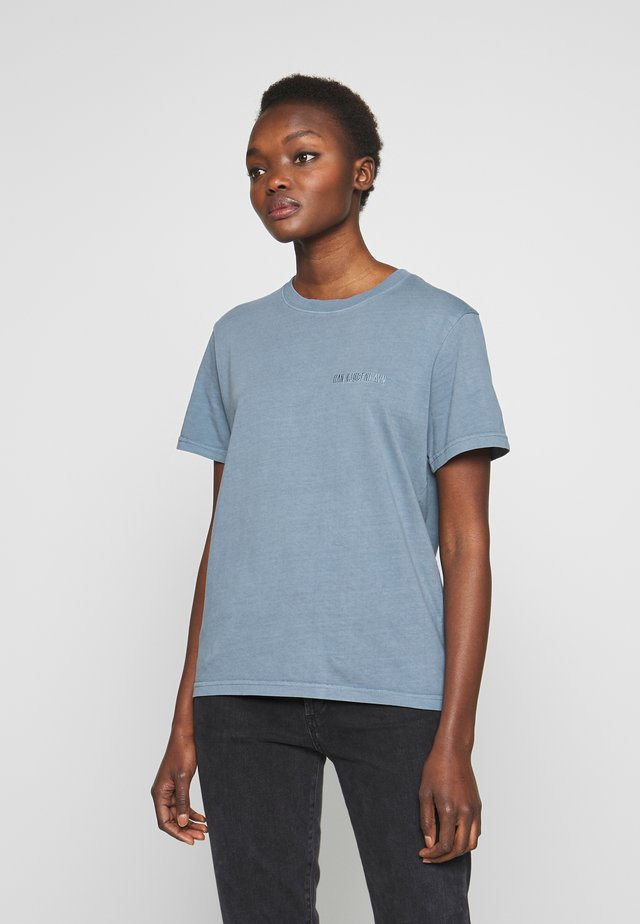 CASUAL TEE - T-shirts basic - blue
