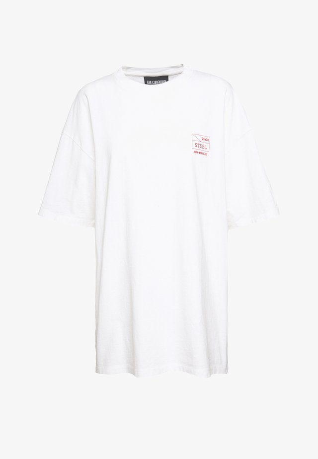 BOYFRIEND TEE - T-shirts print - off white