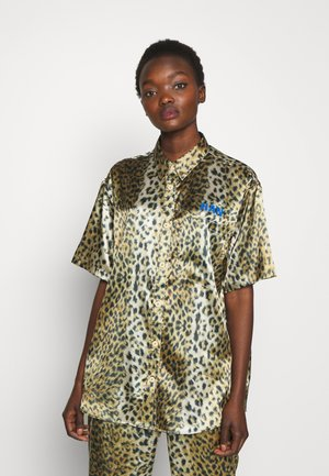 ANIMAL DROP - Button-down blouse - leo