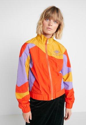 TRACK CURVE TOP - Treningsjakke - multi color