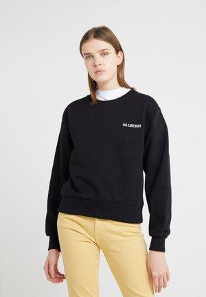 BULKY CREW - Sweatshirts - black