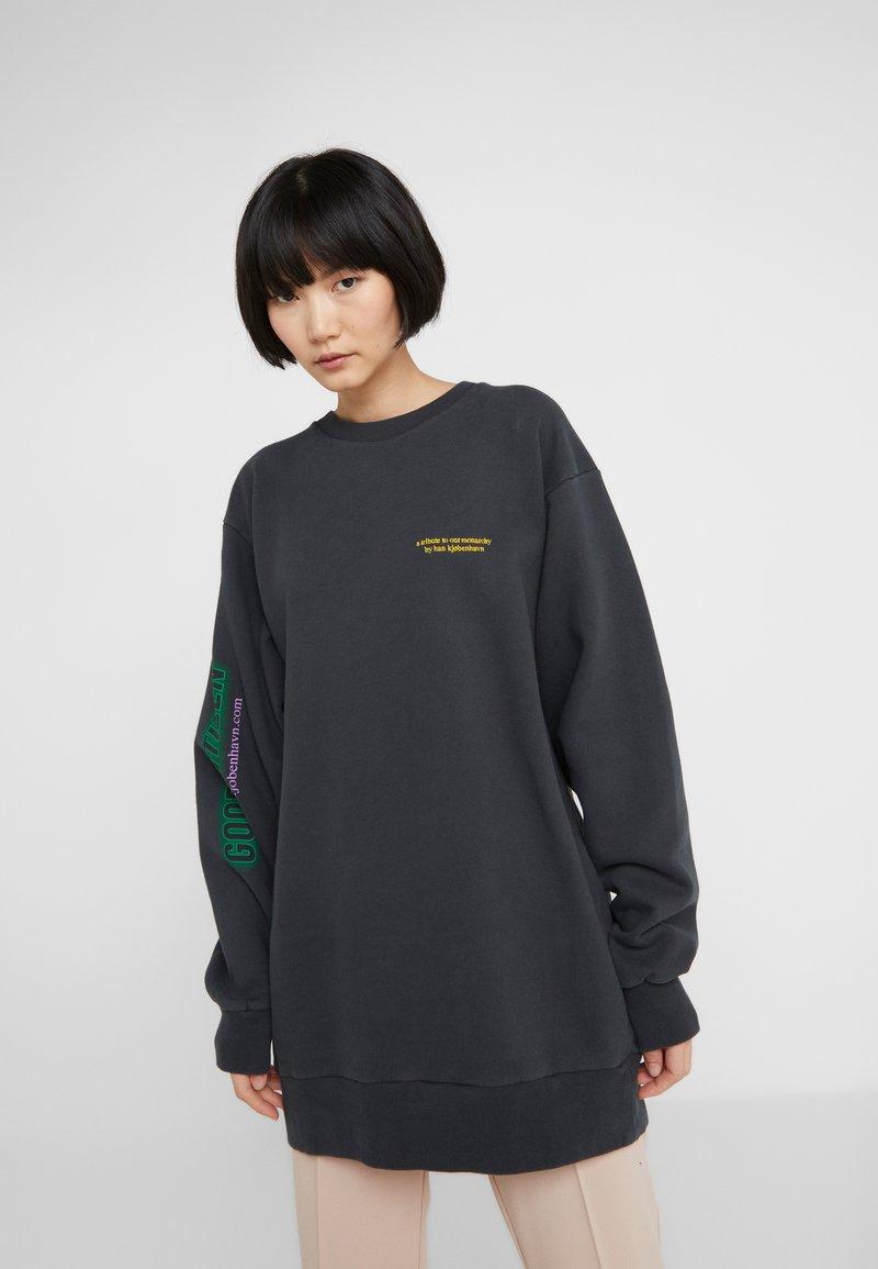 Han Kjobenhavn - RELAXED CREW - Sweatshirt - faded black