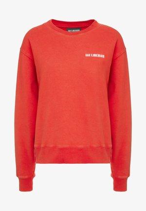 BULKY CREW - Sweatshirt - faded red