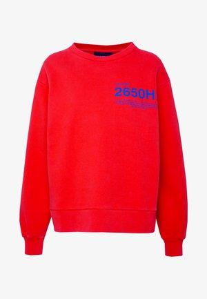 BULKY CREW - Sweatshirt - red
