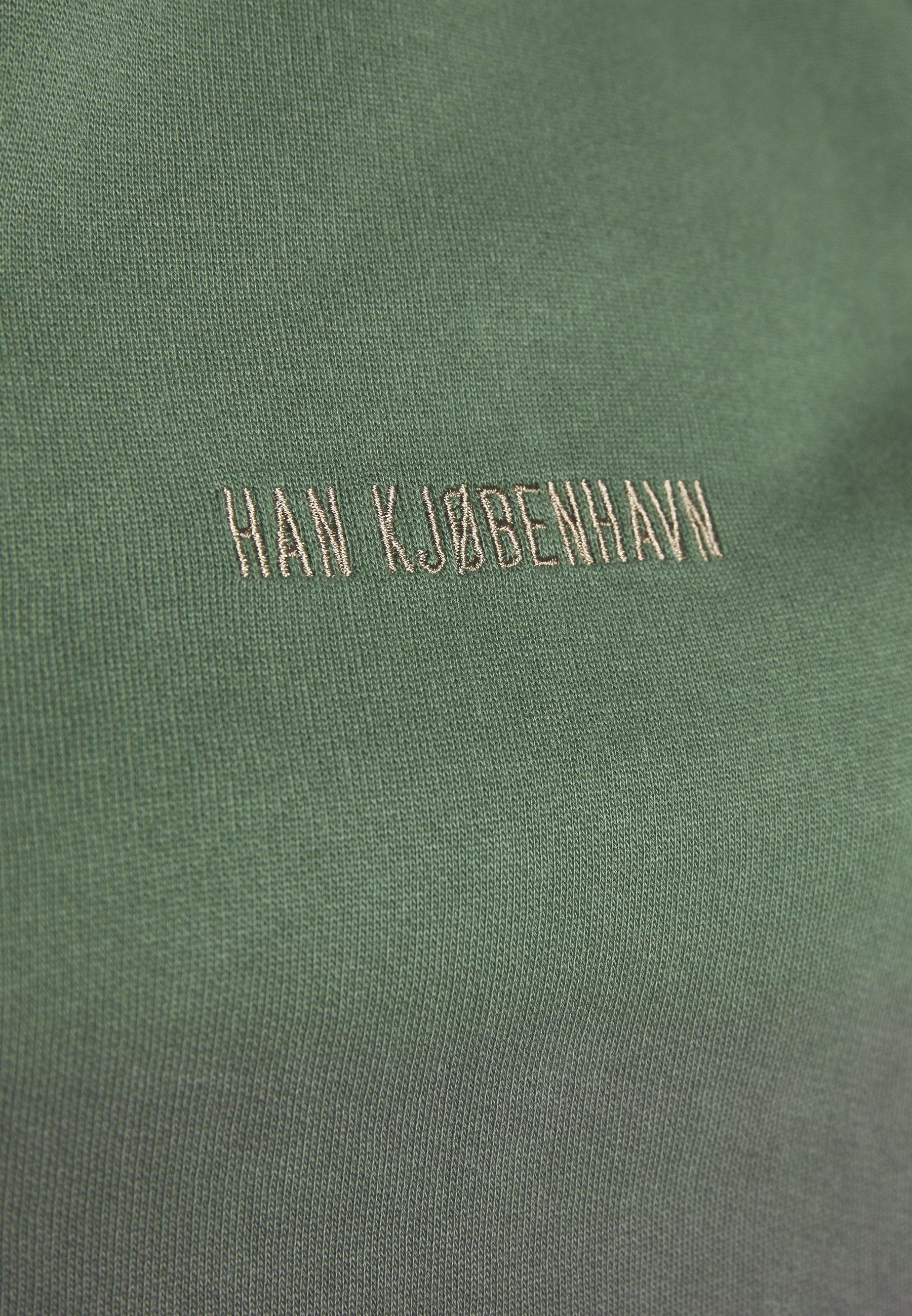 Han Kjobenhavn RELAXED CREW - Bluza - gradient green