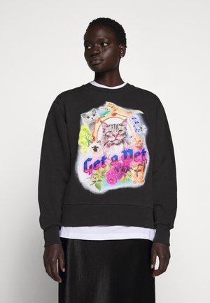 BULKY CREW - Sweater - faded black