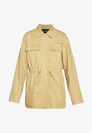 DESK JACKET - Kurzmantel - sand heavy twill
