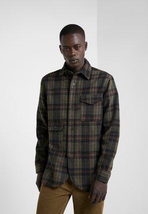 ARMY SHIRT - Skjorte - olive/brown