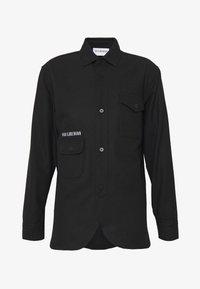 Han Kjobenhavn - ARMY SHIRT - Skjorte - black - 5