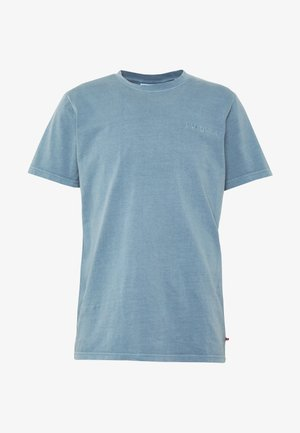 CASUAL TEE - Jednoduché triko - blue