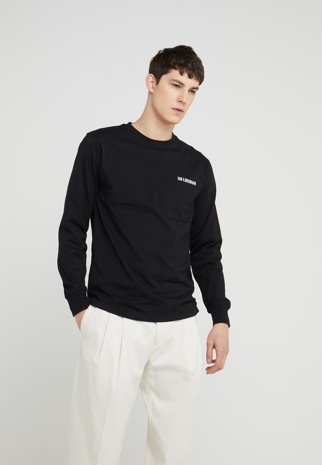 CASUAL LONG SLEEVE - Langarmshirt - black