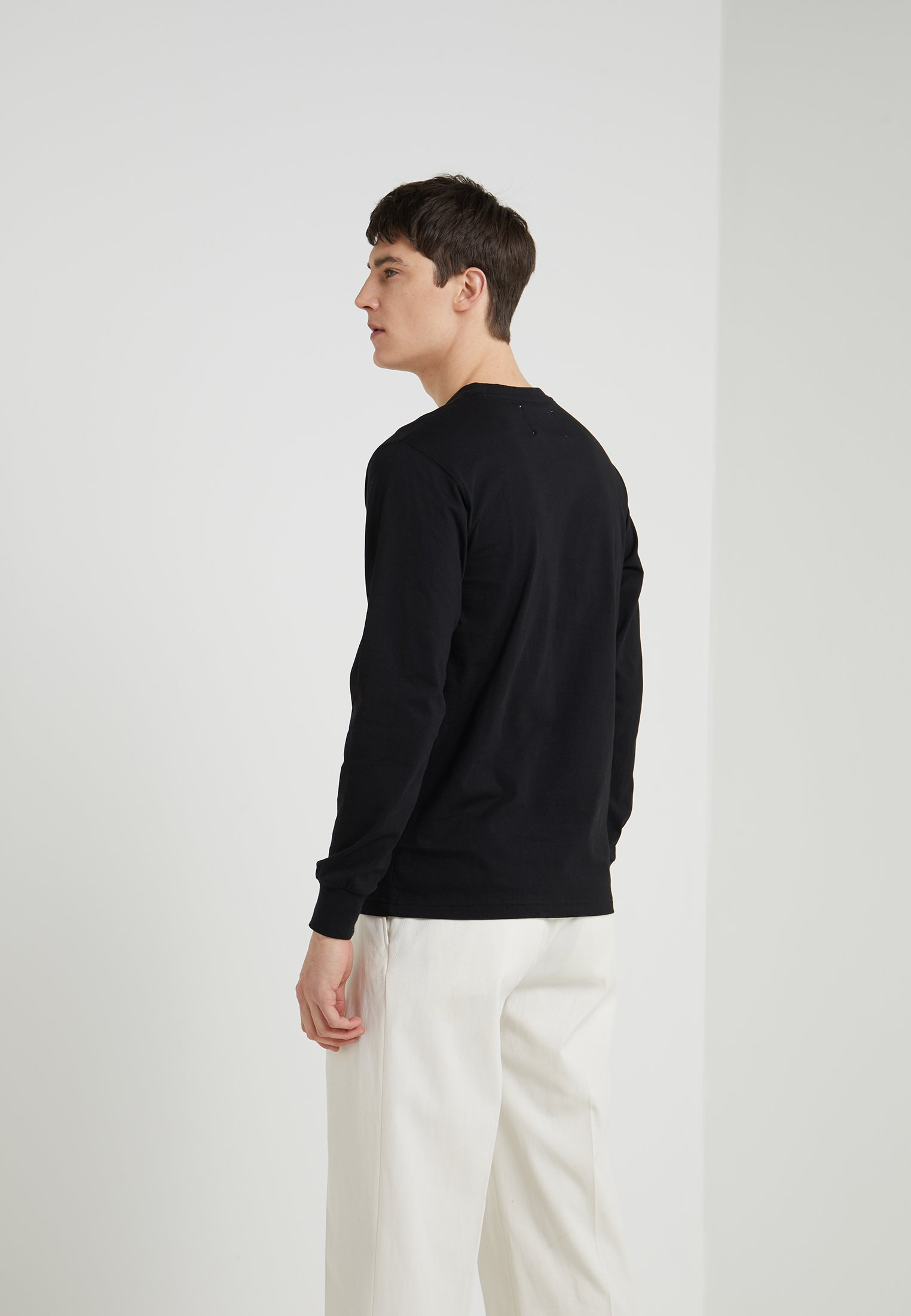 Han Kjobenhavn Casual Long Sleeve - Maglietta A Manica Lunga Black lW3hX