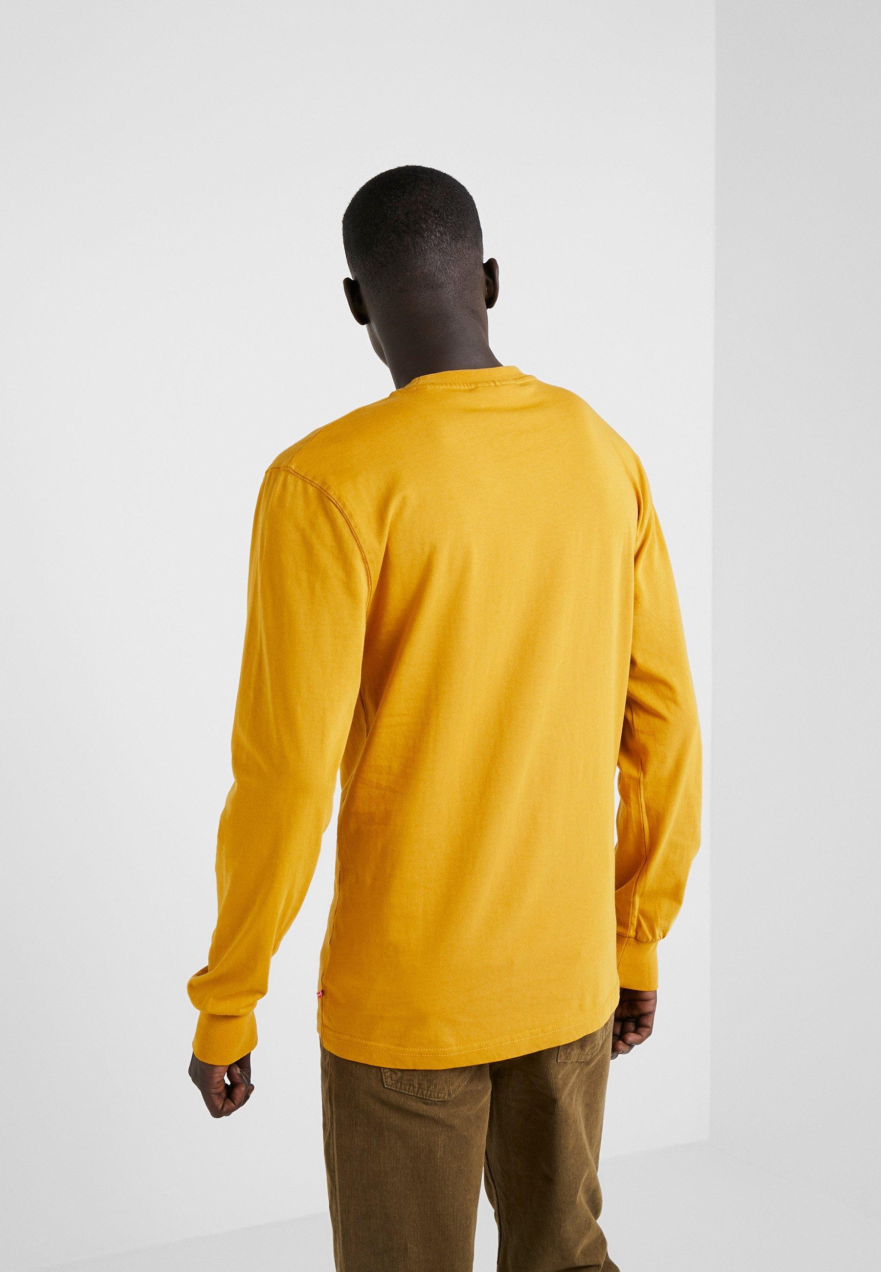 Mustard Tee Casual Kjobenhavn Manches Long À shirt Longues Han SleeveT ALq35R4j