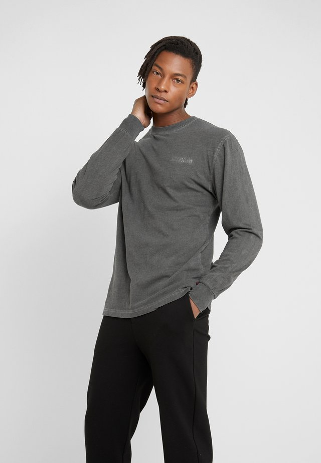 CASUAL TEE LONG SLEEVE - Langarmshirt - dark grey