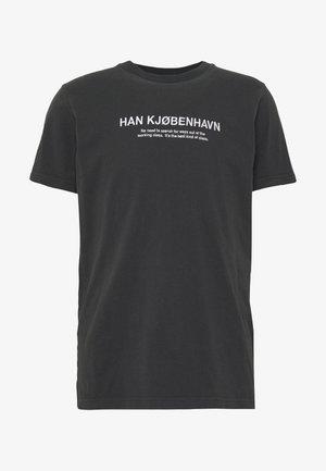 ARTWORK TEE - T-Shirt print - faded black