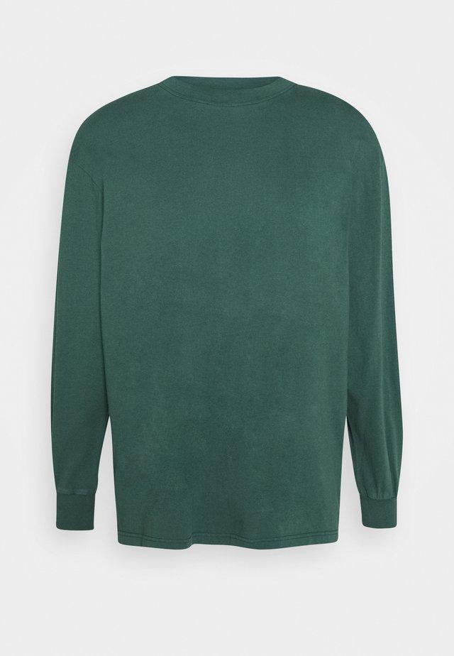 BOXY TEE LONG SLEEVE - Long sleeved top - faded green