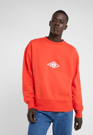 BULKY CREW - Sweatshirt - faded red
