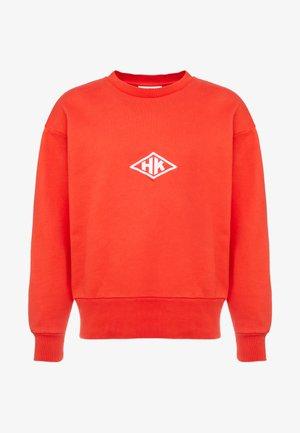 BULKY CREW - Sweatshirts - faded red