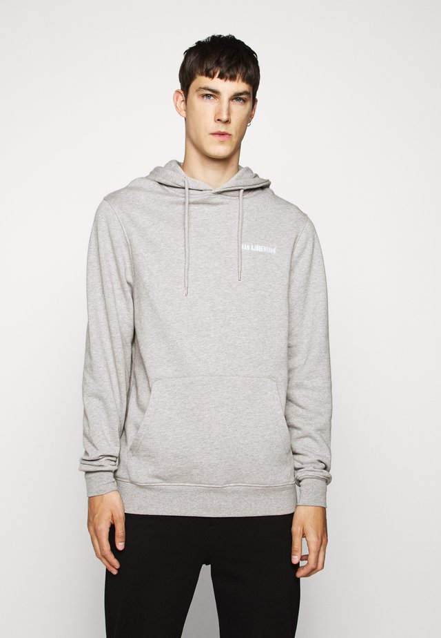 CASUAL HOODIE - Jersey con capucha - grey