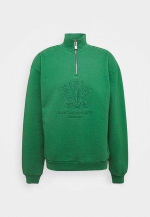HALF ZIP - Mikina - green