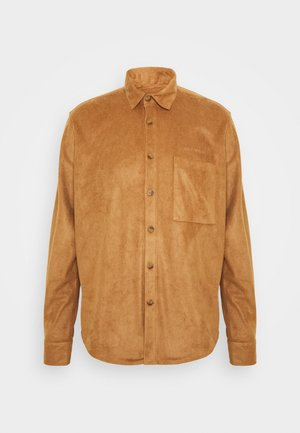 BOXY  - Camisa - brown suede