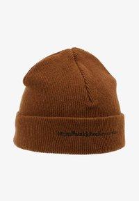 Han Kjobenhavn - HAN TOP BEANIE - Bonnet - brown - 4