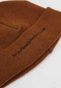 Han Kjobenhavn - HAN TOP BEANIE - Mütze - brown - 5