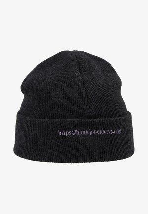 HAN TOP BEANIE - Mütze - black