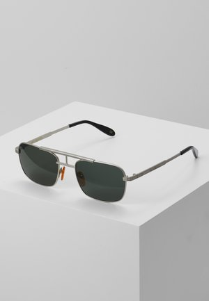 PLANE - Sunglasses - matte silver-coloured