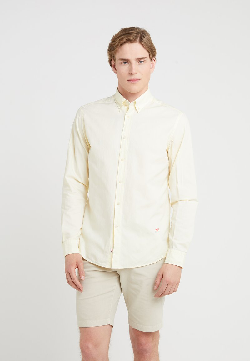 HKT by Hackett - PINPOINT OXFORD - Hemd - yellow